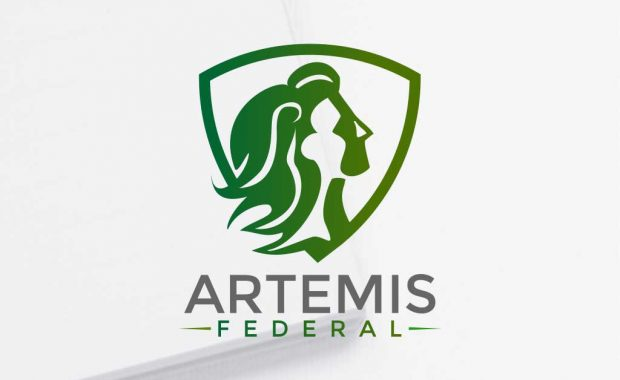 logo design for artemis federal by gravisio